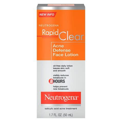 Lotion Rapid Lotion Malam Rapid neutrogena rapid clear acne defense lotion walgreens