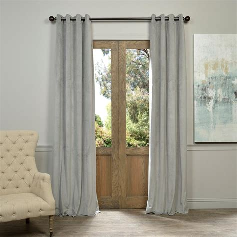 50 x 108 curtains exclusive fabrics furnishings signature silver grey