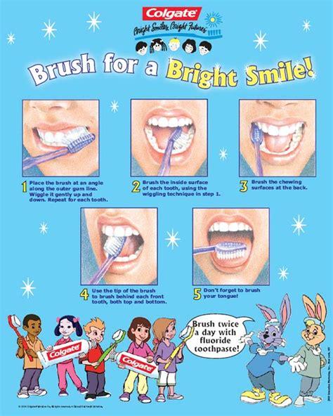 printable dental poster teeth brushing posters teeth colgate 2 in 1 teeth