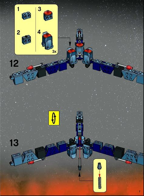 Space Wars Brick Wars Abc lego ultimate space battle 7283 wars