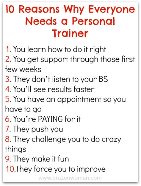 Personal Trainer Offering Classes To Get Fit With Your Wii by 10 Reasons Why Everyone Needs A Personal Trainer Brazenwoman