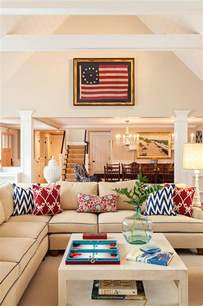 Nautical Living Room Paint Colors Cape Cod Cottage With Coastal Interiors Home Bunch