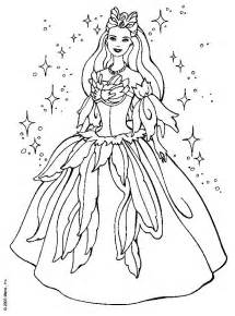 barbie fashion clothes colouring pages