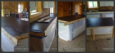 Build Your Own Concrete Countertops by Pin By Cita Lauden On Kitchen