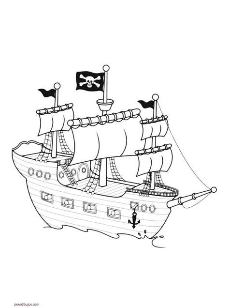 dibujos de barcos para imprimir y colorear dibujos de barcos para colorear