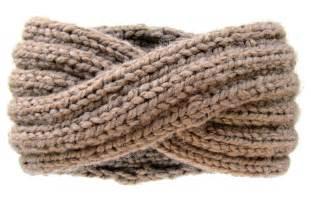 how to knit a warmer chunky knit turban headband ear warmer knits for