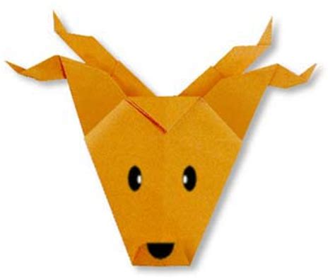 How To Make An Origami Reindeer - origami reindeer