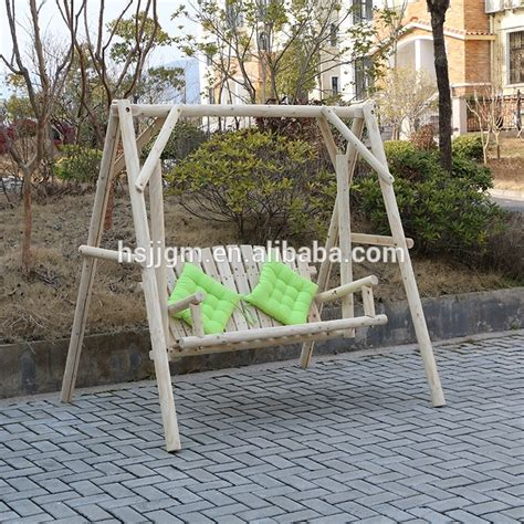 wooden outdoor swings for adults images