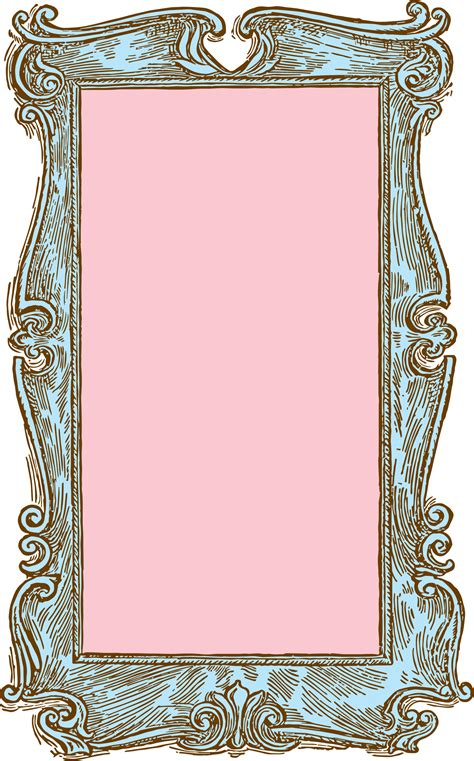 frame clipart free stock image vintage wooden frame vector clipart