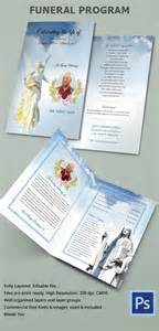 funeral leaflet template free sle funeral program template 30 free