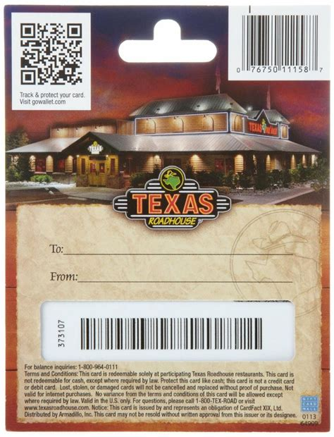 Texas Roadhouse E Gift Card - pin by bartolome terry on mixed pinterest