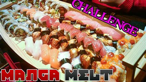 all you can eat sushi challenge melt ep 27