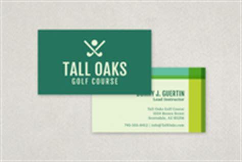 golf business card template modern golf business card template inkd