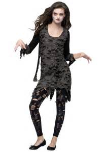 scary halloween costumes for girls teen girls living dead costume teen zombie costumes