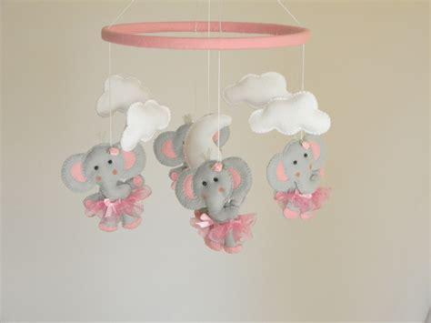 Ballerina Crib Mobile by Sale Baby Crib Mobile Elephant Ballerina Mobile Pink