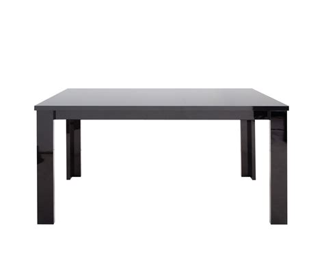 montreal black high gloss dining table and chairs