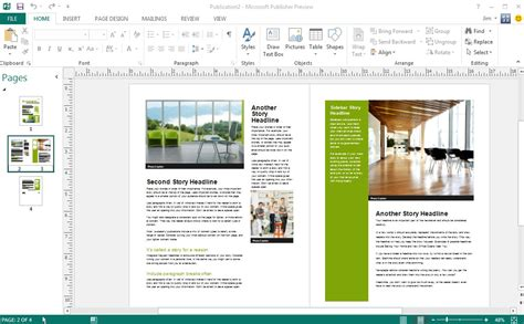 publishing templates open source alternative to microsoft publisher open