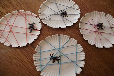 Paper Spider Craft - static page nuttin but preschool