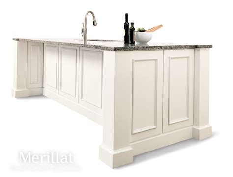 merillat kitchen islands merillat classic 174 cannonsburg maple cotton with tuscan