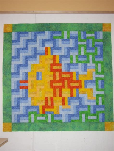 Fence Rail Quilt Pattern by With Quot Rail Fence Quot Quilt Pattern Quilts