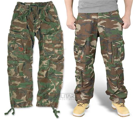 camouflage pattern jeans surplus airborne trousers dpm camo raw vintage cargo