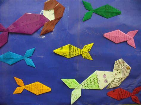Origami Os - lendo no ciep clube do origami e o folclore