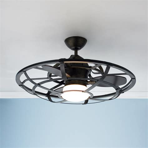 industrial ceiling fan with light industrial cage ceiling fan shades of light