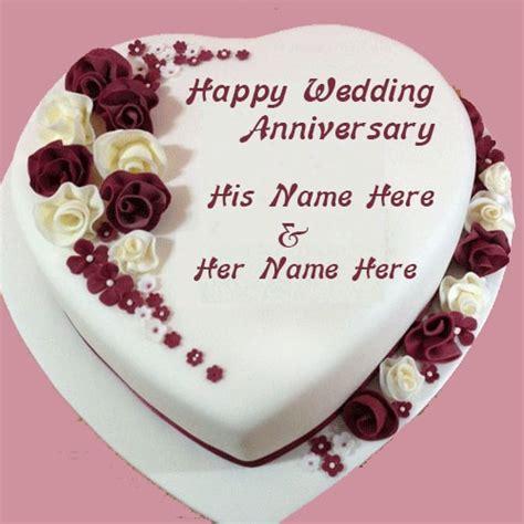 happy wedding anniversary cake images