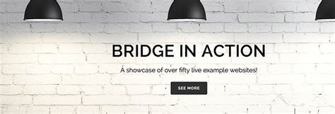themeforest bridge 50 stunning exles of the bridge wordpress theme in action
