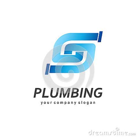 Plumbing Company Logo by Vector Logo Design For Plumbing Company Stock Vector