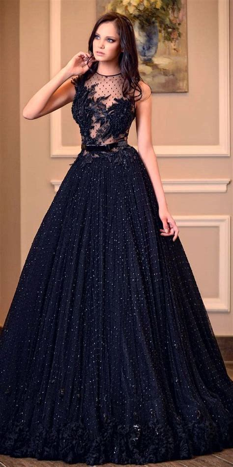 Wedding Dresses Ideas by 20 Beautiful Black Wedding Dress Ideas