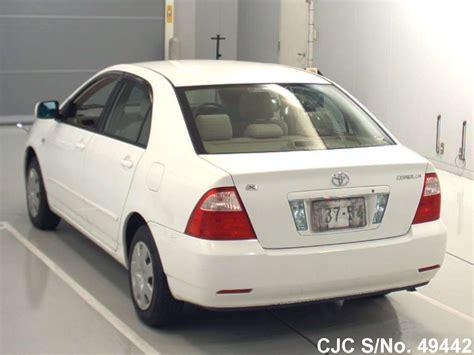 2004 white toyota corolla 2004 toyota corolla white for sale stock no 49442