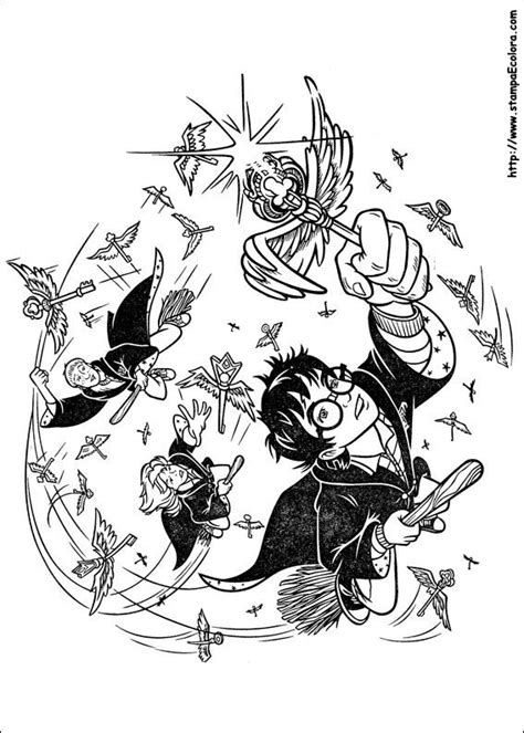 harry potter troll coloring page disegni de harry potter