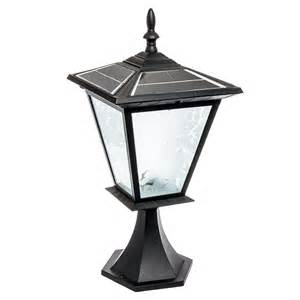solar outdoor post lights reusable revolution 3 led solar outdoor garden post cap
