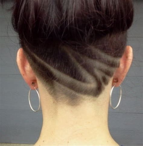 femme undercut hair tattoos on pinterest undercut