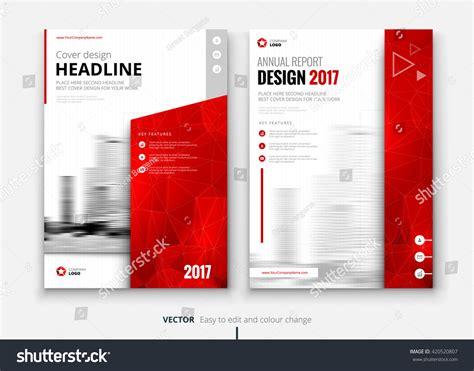 interior design report template cover design for annual report catalog or magazine