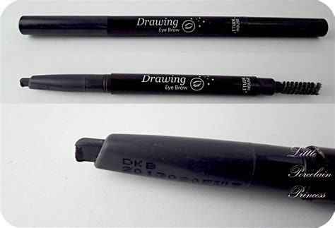 Drawing Eyebrow Etude House Eye Brow Brush Pensil Sikat 1 porcelain princess review etude house drawing eye brow pencil