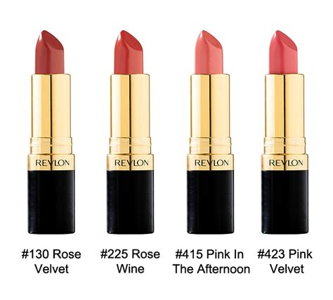 Lipstik Revlon Di Malaysia revlon lustrous lipstick 8 colors to choose hermo shop malaysia
