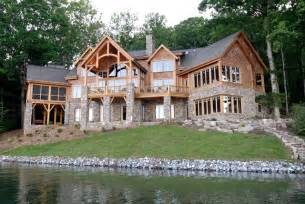 lake home designs luxury lake retreat architectural designs house plan