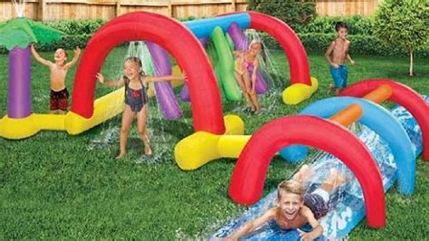 ultimate inflatable backyard water park 10 best inflatable water parks the ultimate list 2018