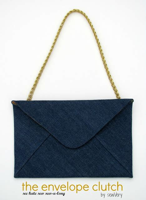 7 Excellent Envelope Clutches by Sewvery The Envelope Clutch