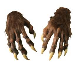 werewolf hands accessories amp makeup