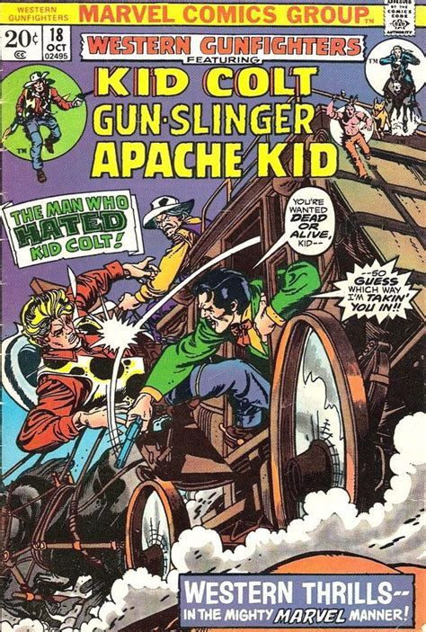 western gunfighters 18 cover by gil gil marvel comic book covers