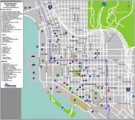 San Diego Street Map by Downtown San Diego Map San Diego Mappery