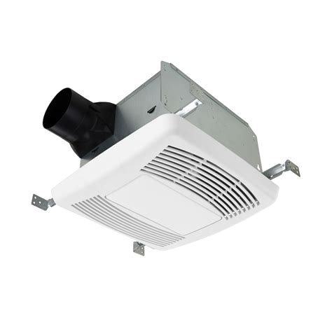 140 cfm bathroom fan shop utilitech 1 1 2 sones 140 cfm white bathroom fan and