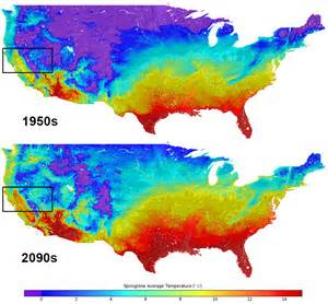 climate change map united states new us climate map shows temperature changes in hd