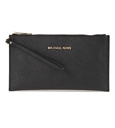 Michael Kors Clutch by Michael Michael Kors Jet Set Saffiano Leather Clutch