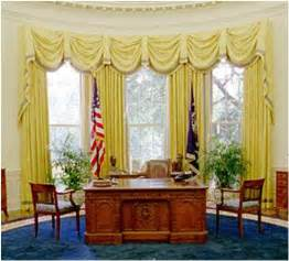 gold curtains in the oval office drapery in the oval office