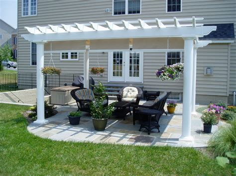 patios with pergolas pergola gazebo traditional patio baltimore by creative deck designs