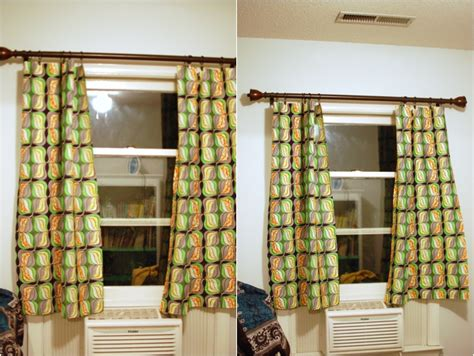 how long should my curtains be diy no sew curtains nursery project